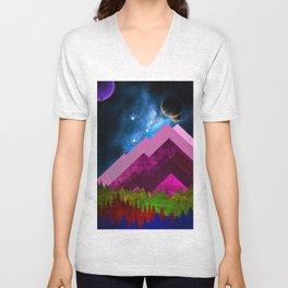 Ayo Mountain Unisex V-Neck
