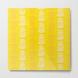 I really like Yellow pinapples Metal Print