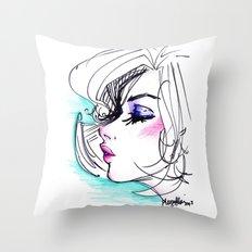 Sharpie Scribble Throw Pillow