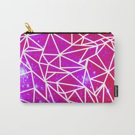 Starry Crystalline Space Pattern III Carry-All Pouch