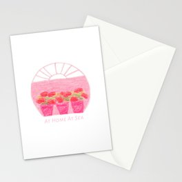 Mar dulce - At Home At Sea Stationery Cards