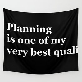 Planning Wall Tapestry