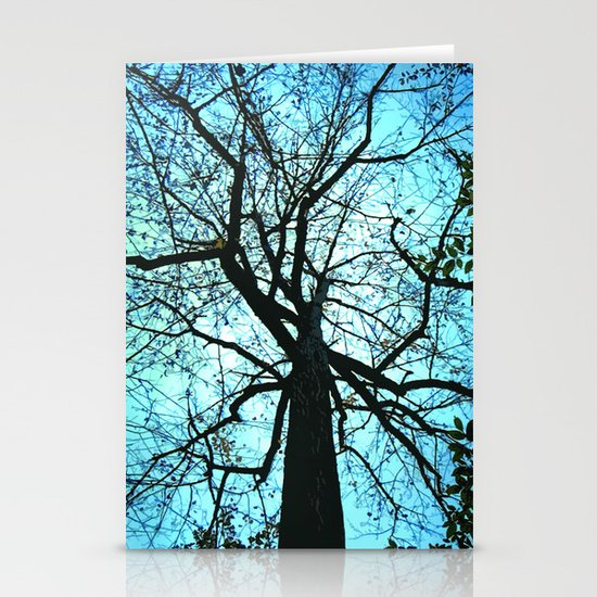 Up the Tree Stationery Cards