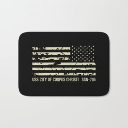 USS City of Corpus Christi Bath Mat
