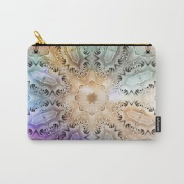 Vintage colored kaleidoscope Carry-All Pouch