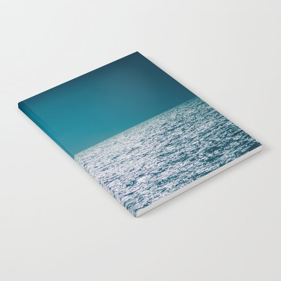 The Ocean Kissing The Shoreline Notebook