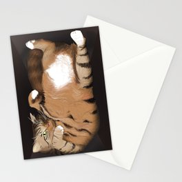 Cat in the Box Stationery Cards