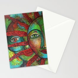 Facing the Sun 2 Stationery Cards