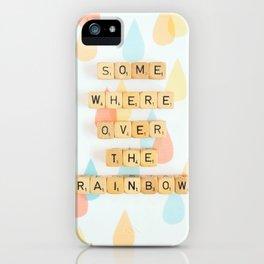 Somewhere Over The Rainbow iPhone Case