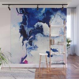 Riveting Abstract Watercolor Painting Wall Mural