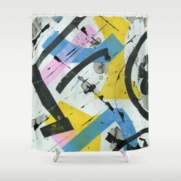 Spring Mix No. 3 Shower Curtain