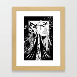 Very unwelcome guests Framed Art Print