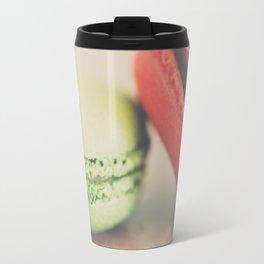 pistachio & strawberry ... Travel Mug