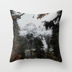 Cascade River Rd Throw Pillow