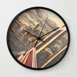 Brisbane river view Wall Clock