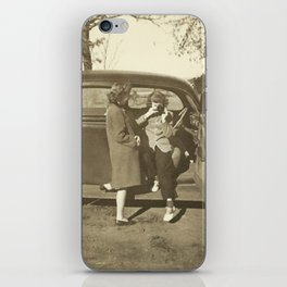 Vintage Photographer iPhone Skin