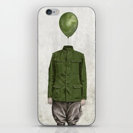 The Soldier - #3 iPhone Skin