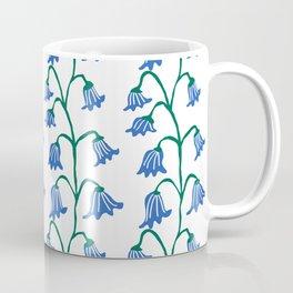 Folksy Bluebell Vines Coffee Mug