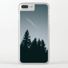 Forest XVI Clear iPhone Case