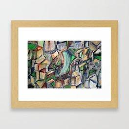 A City Framed Art Print