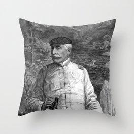Admiral Dewey At Sea Throw Pillow