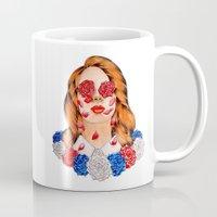 lana Mugs featuring LANA  by Aidan Reece Cawrey