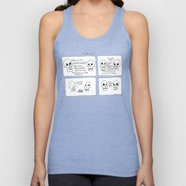 Name Tags Unisex Tank Top