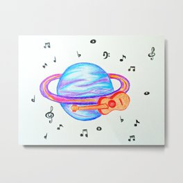 Hazy Cosmic Jive #2 Metal Print