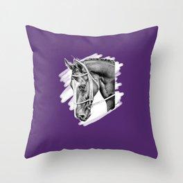 Sport Horse Throw Pillow