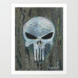 Punisher Art Print