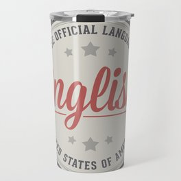 The Official Language Travel Mug