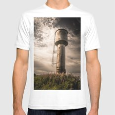 Closer to the sky 2 White MEDIUM Mens Fitted Tee