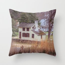 Innis House Fredericksburg and Spotsylvania National Military Park Virginia Civil War Historic Home  Throw Pillow