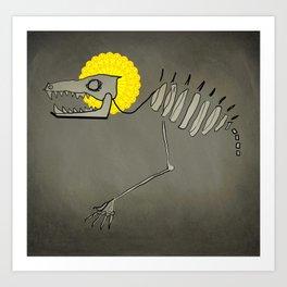 Skull Demon Art Print