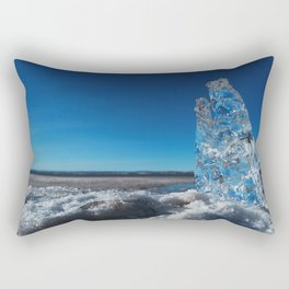 Crystal of the Tide Rectangular Pillow