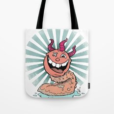Tongue Creature Tote Bag