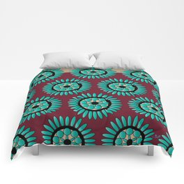 Native Wheel #2 Comforters