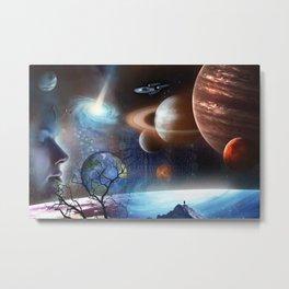 Extraterrestrial Civilizations  Metal Print
