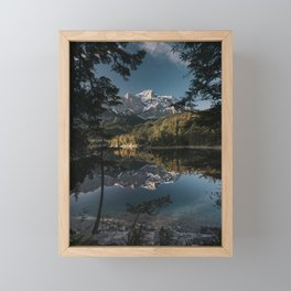 Lake Mood - Landscape and Nature Photography Framed Mini Art Print