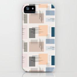 Wandering pastels iPhone Case