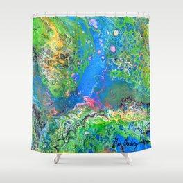 SpongeBob's Hideout Shower Curtain