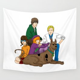 The Mystery Machine Club Wall Tapestry