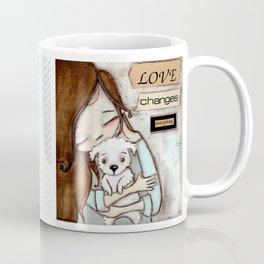 Love Changes Everything by Diane Duda Coffee Mug