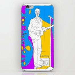 David Byrne in Stop Making Sense by Aaron Bir iPhone Skin