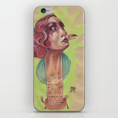 SUPER FLAMINGO iPhone & iPod Skin