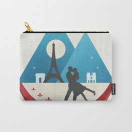 Le Baiser - French Kiss Carry-All Pouch
