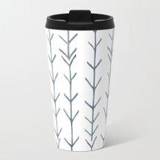 Twigs and branches freeform gray Travel Mug