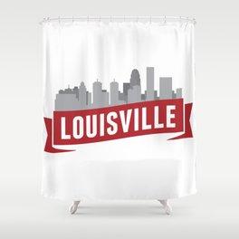 City of Louisville Shower Curtain