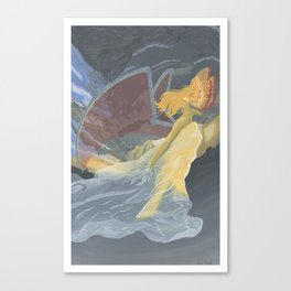 Monster of the Sky Canvas Print