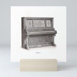 Kimball Piano 14 Mini Art Print